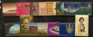 PITCAIRN ISLANDS SG94/106b 1969 DEFINITIVES MTD MINT