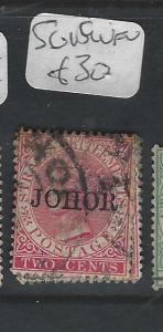 MALAYA JOHORE  (PP0302B)  QV  2C  SG  15   VFU