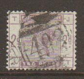 Great Britain #100 Used