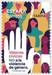 2019 Spain No Gender Violence - Civic Values  (Scott NA) MNH