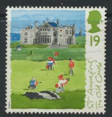 Great Britain SG 1829  Used  - Scottish Golf Courses