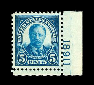 momen US Stamps #637 Mint OG NH PSE Graded XF-90J