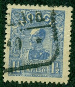 NORWAY #65, Used, Scott $85.00