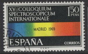 SPAIN SG1982 1969 INTERNATIONAL SPECTROSCOPICAL CONFERENCE FINE USED