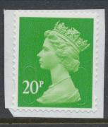 Great Britain SG U2924 Security Machin 20p  M17L  Used