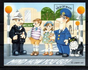 Isle of Man 1994, Postman Pat MNH S/Sheet # 614