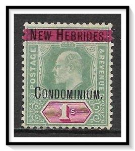 New Hebrides - British #9 King Edward VII MHR