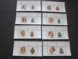 Vatican 1999 Sc 1095-1102 set MNH