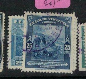 Venezuela SC 365-6 VFU (2exh)