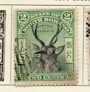 North Borneo 1897-1900 Early Issue Fine Used 2c. NW-113867