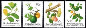 Bophuthatswana - 1991 Edible Wild Fruit Set MNH** SG 252-255