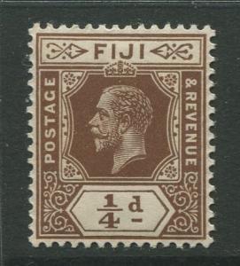 Fiji - Scott 79 - KGV Definitive Issue -1912 -Die I - MNH - Single 1/4d Stamp