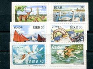 Ireland 1997-99  Mint VF NH  - Lakeshore Philatelics