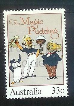 Australia #960B 33c The Magic Pudding used