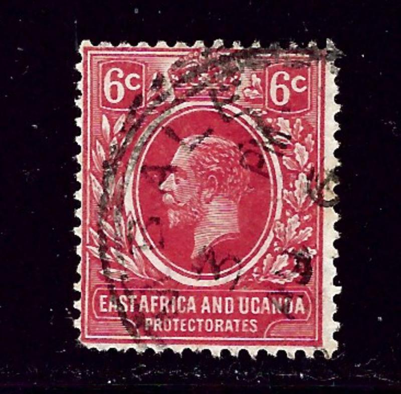 East Africa and Uganda 42 Used 1912 issue