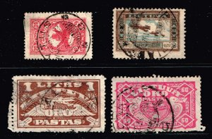 Lithuania Stamp USED STAMPS COLLECTION LOT #4