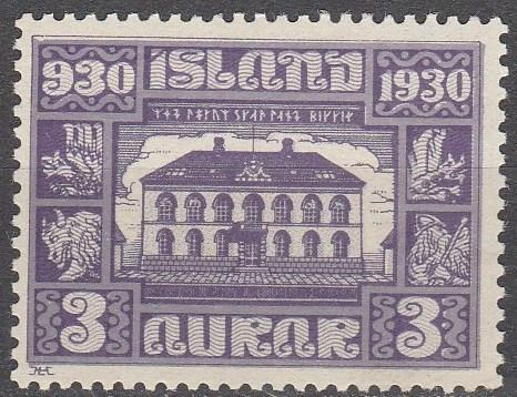 Iceland #152 F-VF Unused CV $4.75 (A13888)