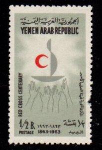Yemen - #188C Red Cross - MNH