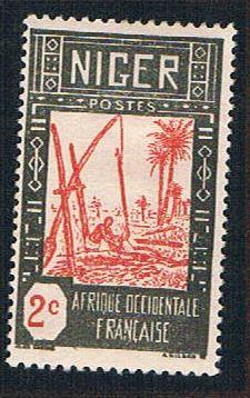 Niger 30 MLH Drawing Water from Well (BP10222)