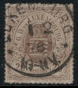 Luxembourg #21  CV $8.00