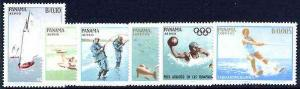 Panama 1964 Aquatic Sports perf set of 6 unmounted mint, ...