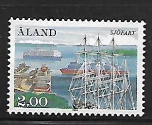 ALAND ISLANDS, 23, MINT HINGED, CAR FERRIES