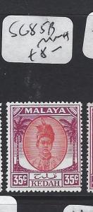 MALAYA KEDAH (P1705B)  35C SULTAN SG 85B     MNH