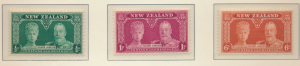 New Zealand Stamps Scott #199 To 201, Mint Lightly Hinged - Free U.S. Shippin...