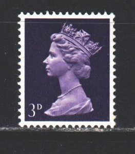 England. 1968. 455 from the series. Queen of England. MNH.