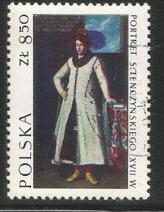 POLAND 1968  USED,  POLISH ART