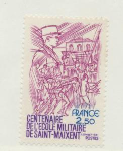 France Scott #1740, Military College Issue From 1981, Collectible Postage Sta...