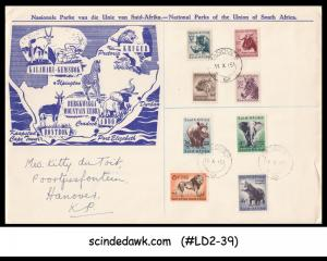 SOUTH AFRICA - 1951 NATIONAL PARKS OF THE UNION OF SOUTH AFRICA / WILD ANIMALS -