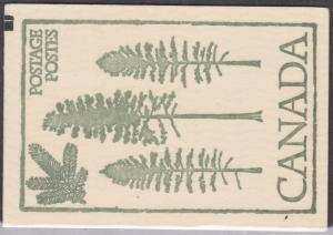 Canada - 1978 14c Floral Complete Booklet with Counter #BK78d