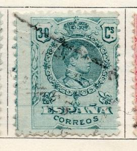 Spain 1909-10 Early Issue Fine Used 30c. 144090