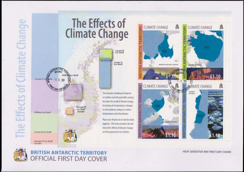 British Antarctic Territory Scott 417 Unaddressed.