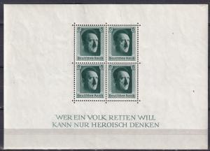 Germany #B102 MNH CV $52.50  Z550L