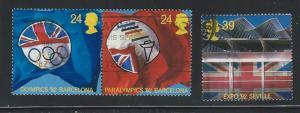 Great Britain  used  sc  1451 - 1453