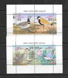 BIRDS- TURKEY #2730-1 MNH