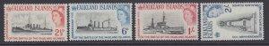 Falkland Islands, Scott 150-153 (SG 215-218), MLH