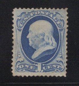 US Stamp Scott #156 Mint Hinged SCV $200