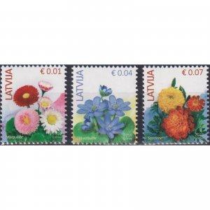Latvia 2019 Flowers  (MNH)  - Flowers