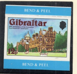 Gibraltar 1978 QEII Early Issue Fine Mint Unmounted 12p. NW-99279