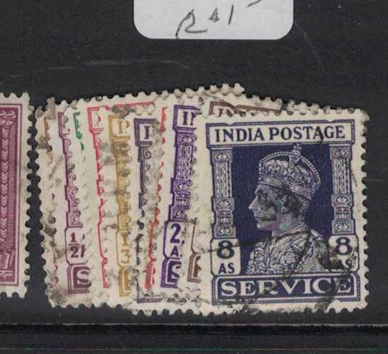 India SG O141-50 VFU (8dus)