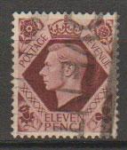 GB George VI  SG 474a Used