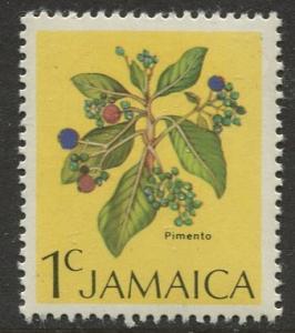 Jamaica - Scott 343 - QEII Definitive -1972 - MNH - Single 1c Stamp
