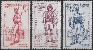 French Equatorial Africa #B8A-B8C MNH CV$10.50