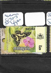 MALAYA   MALACCA   (PP1007B)  BUTTERFLY  SG 70-3 TO 6C  MOG