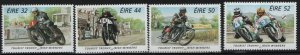 IRELAND, 1010-1013, (4) SET,  HINGED, 1996,Irish Winners Trophy Motorcycle Races