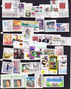 Germany commemorative mix 1980s-90s #6