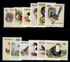 AUSTRALIA QEII SG669-680, 1978 birds set, NH MINT.